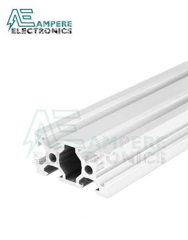 2040 V-Slot Aluminum Profile Extrusion (1M – Silver Anodized)