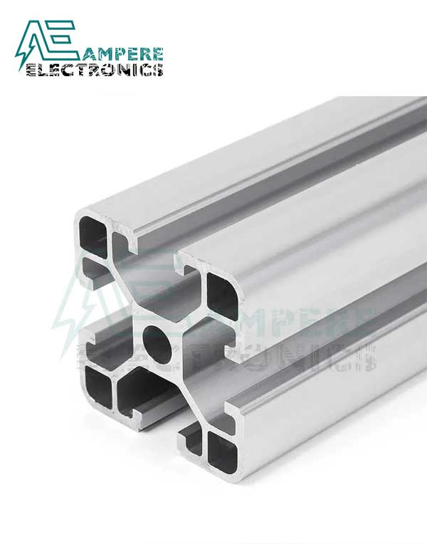 4040 T-Slot Aluminum Profile Extrusion (1M – Silver Anodized)