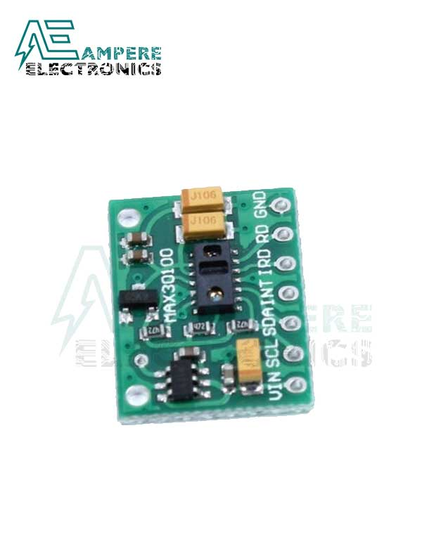 MAX30100 Pulse Oximeter and Heart-Rate Sensor Module