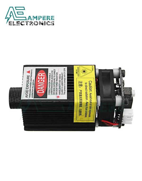 2500mW Blue Laser Module For DIY Laser Engraver 445nm - 12Vdc