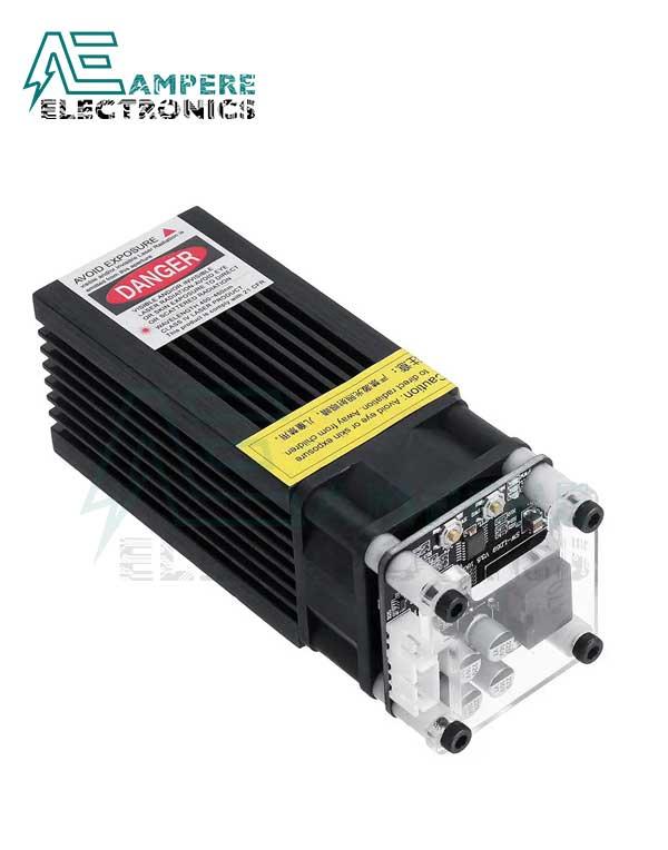5500mW Blue Laser Module For DIY Laser Engraver 445nm – 12Vdc