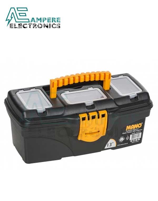 Mano C.OR-13 Plastic Toolbox Organizer – 13 Inch / 32 CM