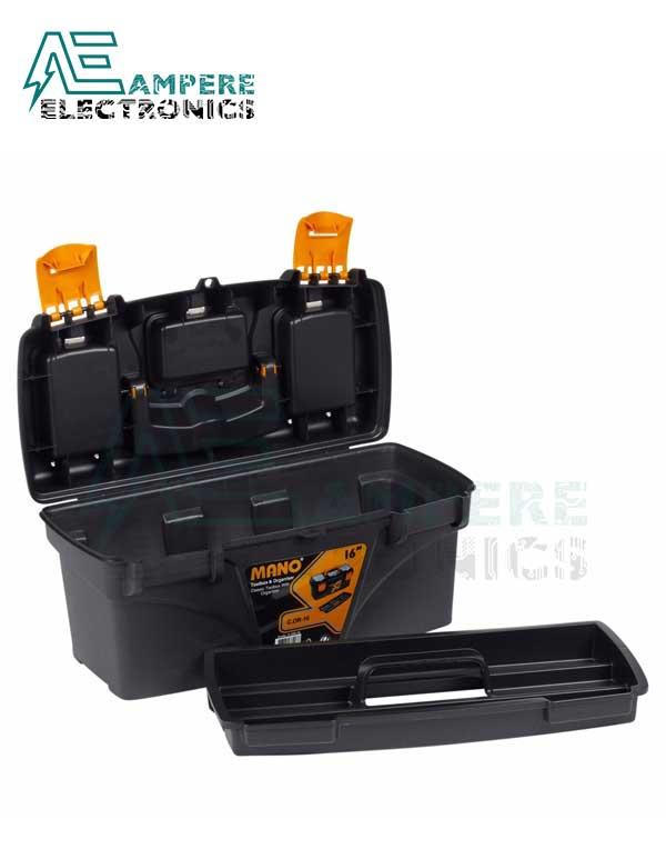 Mano C.OR-16 Plastic Toolbox Organizer – 16 Inch / 41 CM
