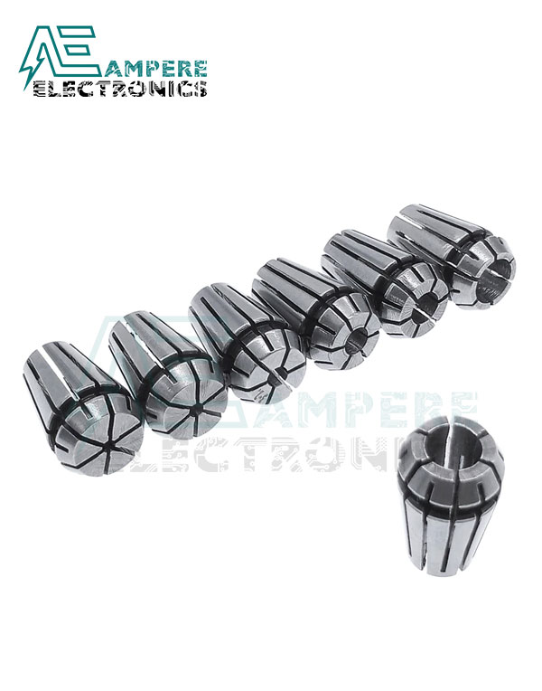 ER11 Collet Set 13Pcs from1mm to 7mm