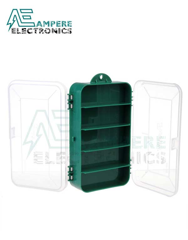 Electronic Components Box 165x95x45mm Double-sided