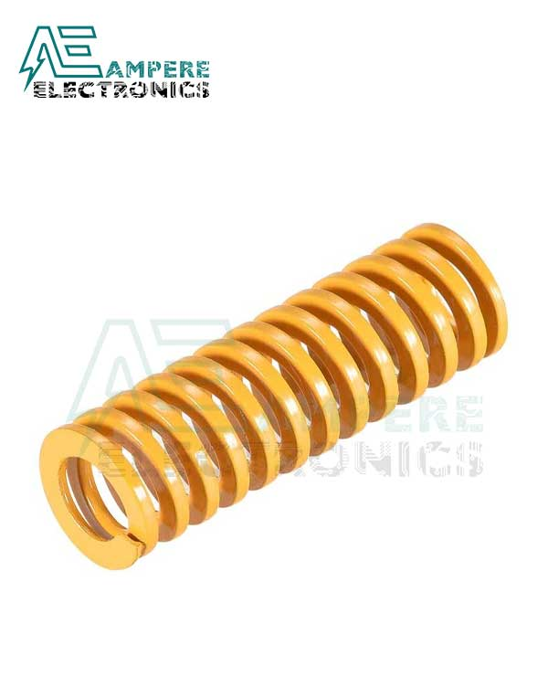 Yellow Bed Leveling Spring 10x25mm