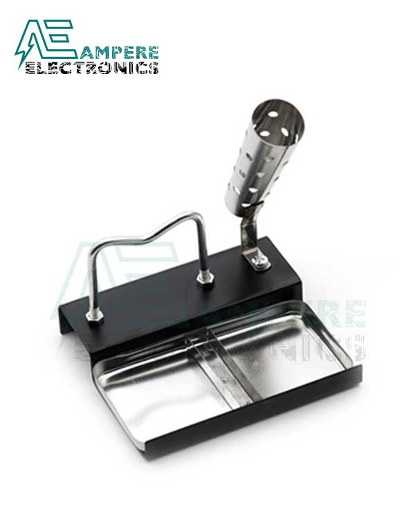 Double Base Metal Soldering Iron Stand No.209