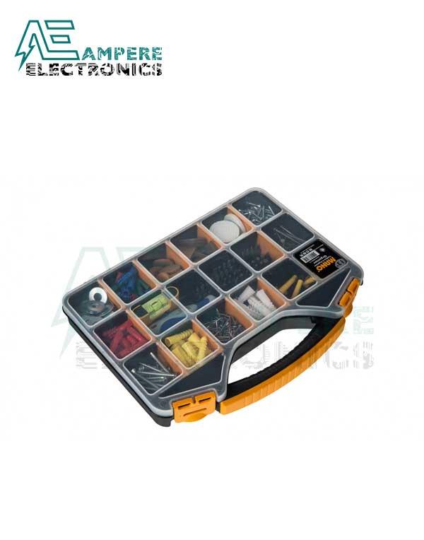Mano ORG-13 Small Parts Organizer Box – 326x257x48mm
