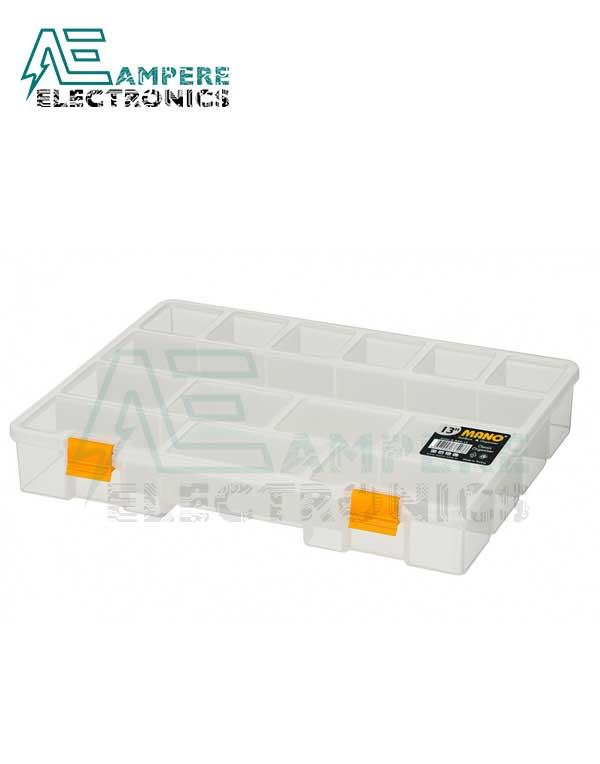 Mano S-ORG-13 Small Parts Organizer Box – 324x247x51mm
