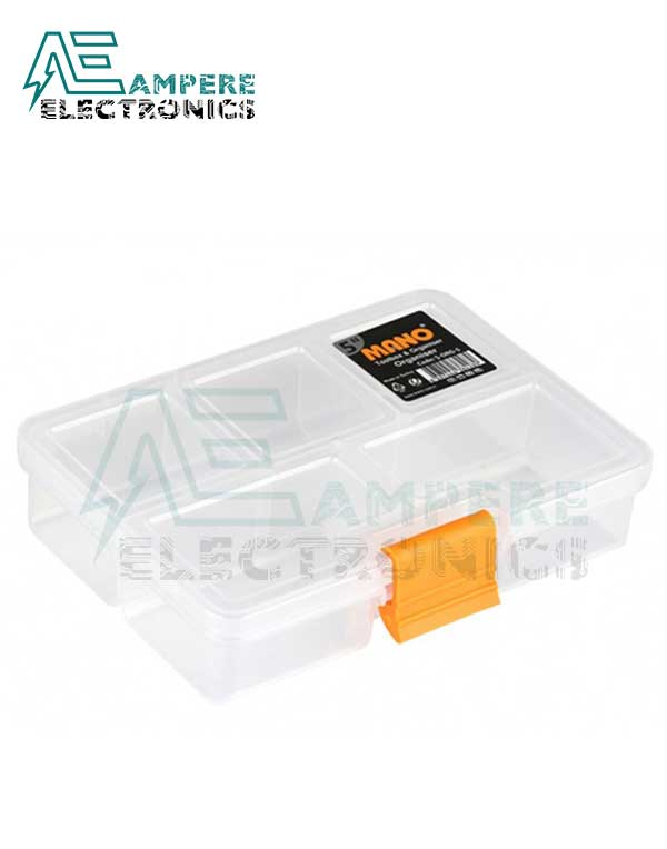 Mano S-ORG-5 Small Parts Organizer Box – 135x100x30mm