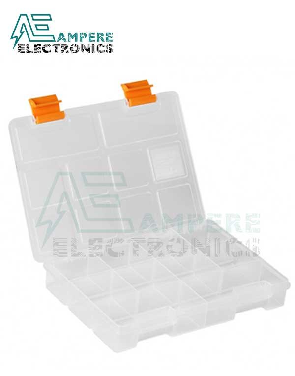 Mano S-ORG-7 Small Parts Organizer Box – 195x140x32mm